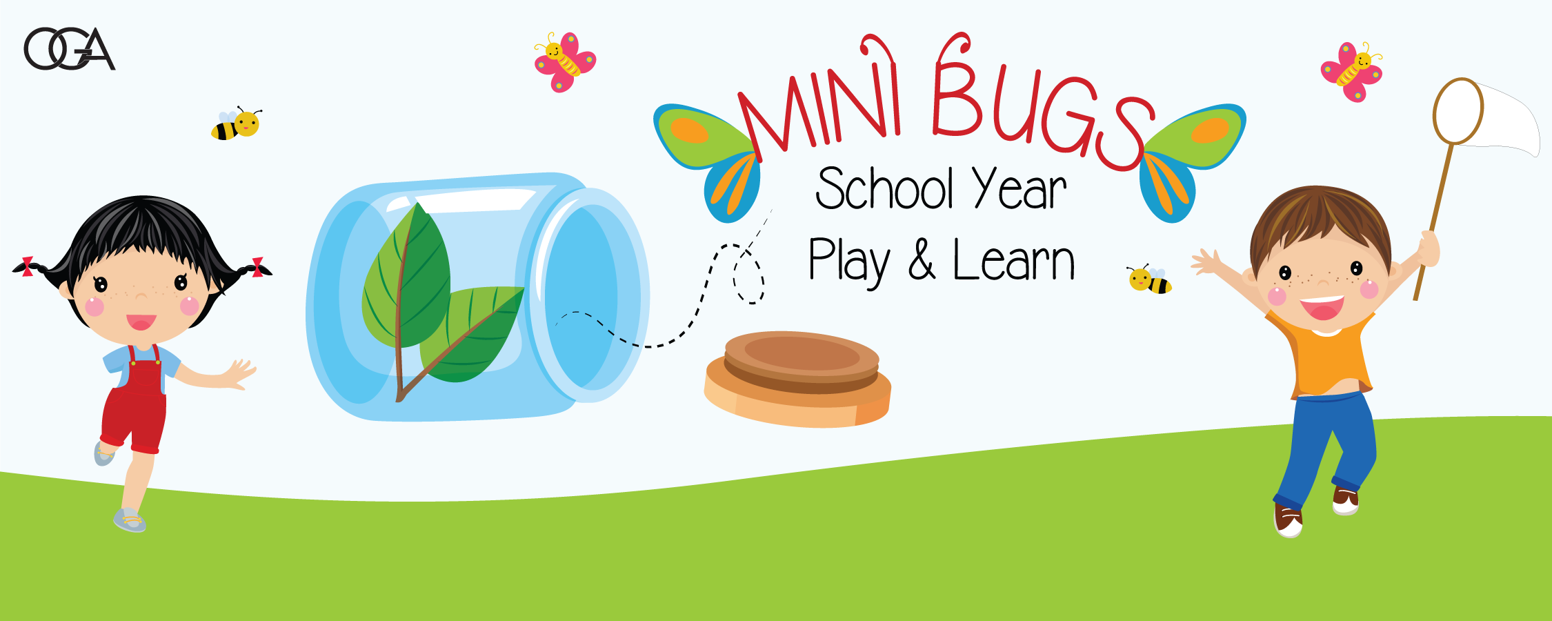 Mini Bugs School Year Play and Learn